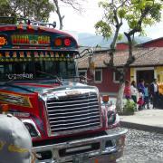 2018 07 Guatemala city Bus