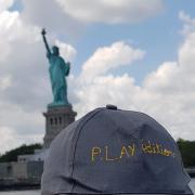 2018 07 Stephane Delage NYC Statue