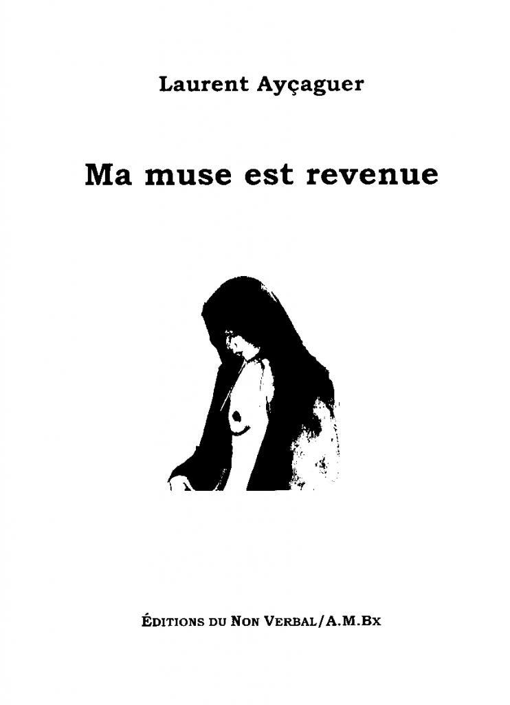"""""""Ma muse est revenue"""" Couverture"""