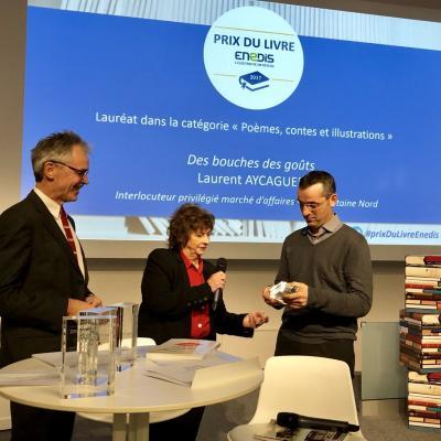 2017 11 Remise Prix livre Enedis Michèle Cotta