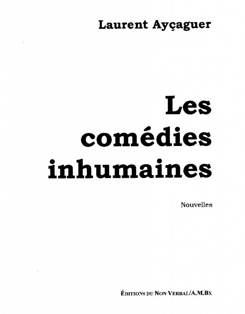 Les Comédies Inhumaines