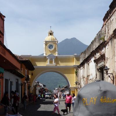 2018 07 Guatemala City Arche