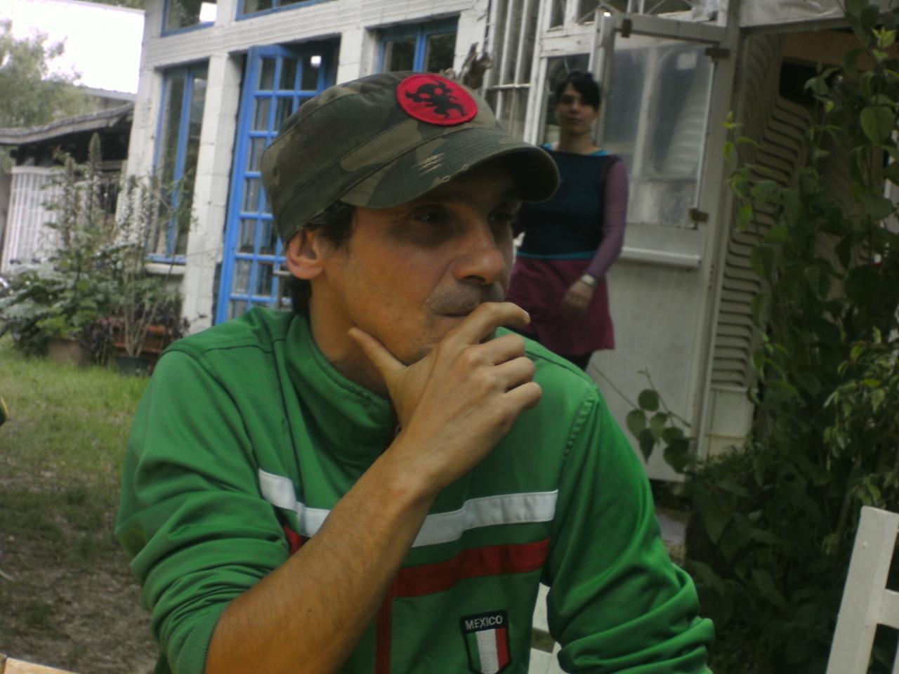 Rencontre avec Manu... avril 2008