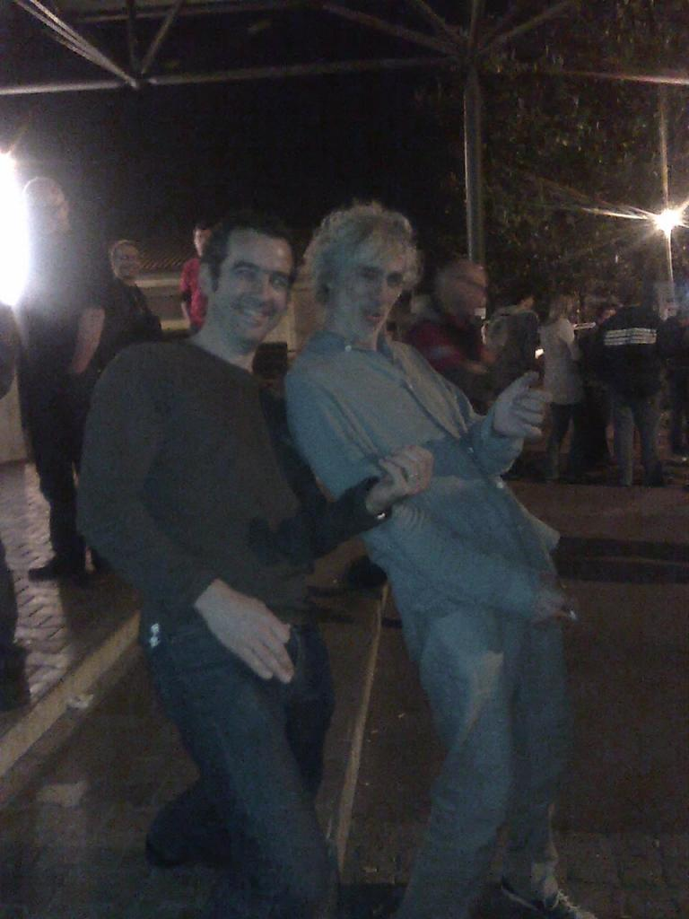 Rencontre avec Louis... mars 2012
